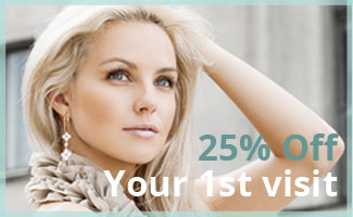 25% off first visit