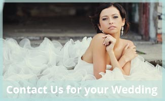 contact us for your wedding