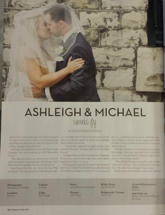 Ashleigh and Michael - Wedding Trends 2015