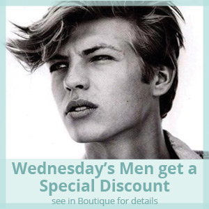Men receive 25% off